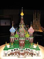 ロシア連邦:モスクワのクレムリンと赤の広場(聖ワシリイ大聖堂)