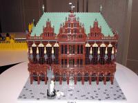 ドイツ連邦共和国:ブレーメンのマルクト広場の市庁舎とローラント像