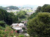 三重塔付近からの風景