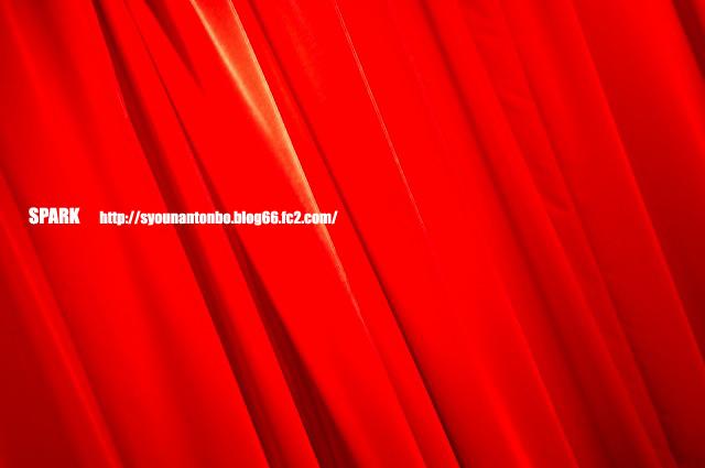 レッドカーテン♪