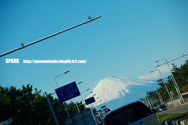 富士山がめちゃきれいだった