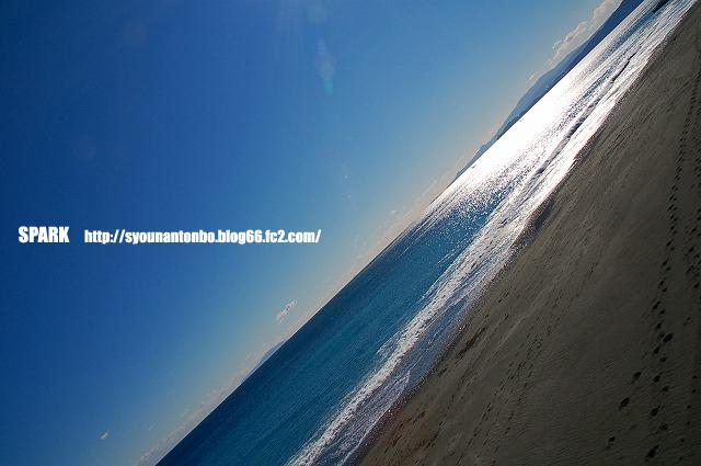 冬の海のきれいさが夏まで続けばいいのにな