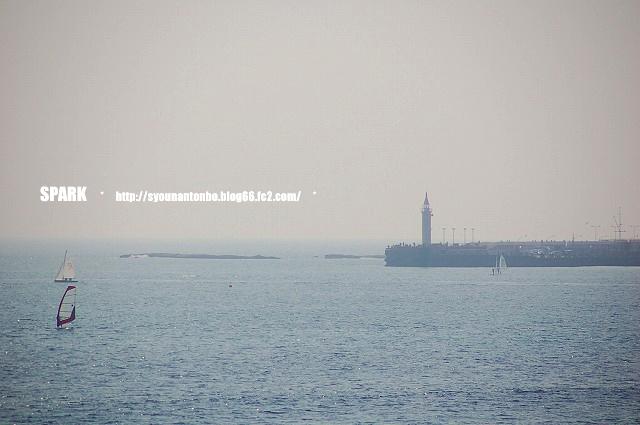江ノ島の先端