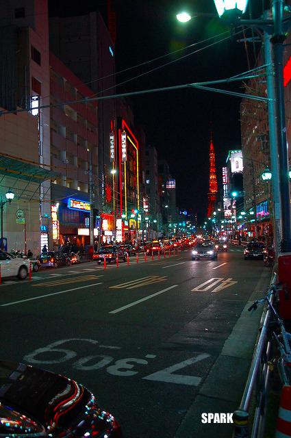 東京タワーが遠くに見えた