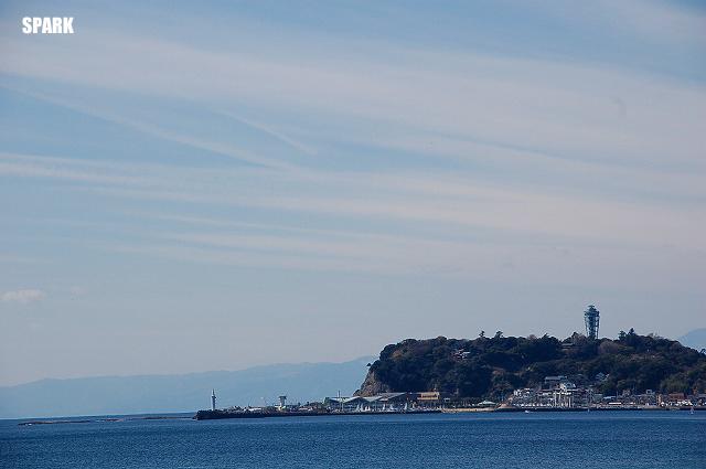 今日の江ノ島は澄んでいました?