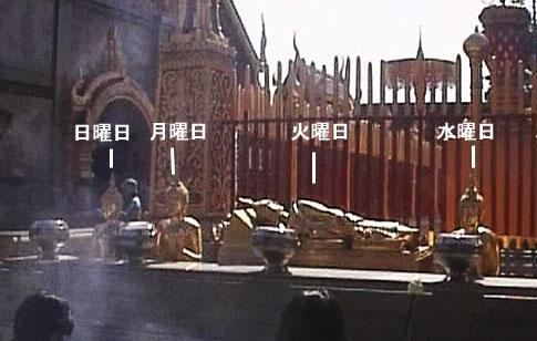 曜日と仏像1