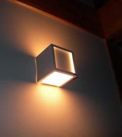 照明器具のゆがみ