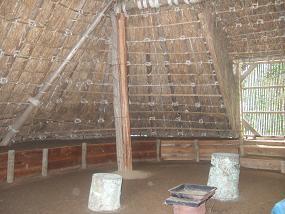 古墳時代の住居内