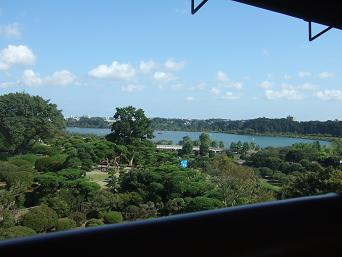 楽寿楼からの眺望