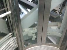 エレベーターからの塔内