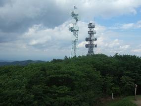 展望台からの福島方面