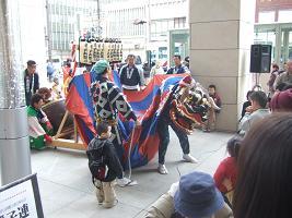 石岡獅子舞