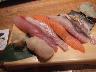 板長おまかせ寿司八貫