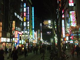 日本一の歓楽街!歌舞伎町