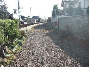 撤去された線路