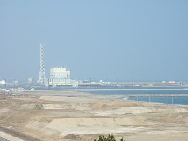北埠頭の発電所