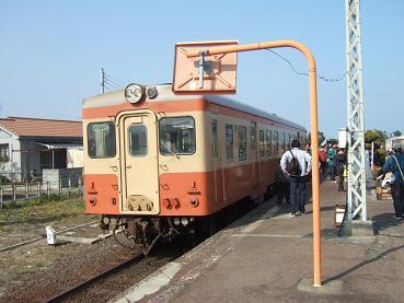 湊線の電車