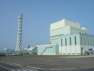 石炭の火力発電所