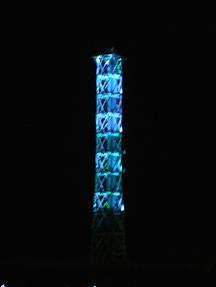 ブルーな煙突