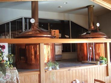 地ビールタンク