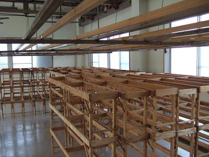 製麺作業場
