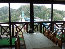 2Fレストランからの眺望
