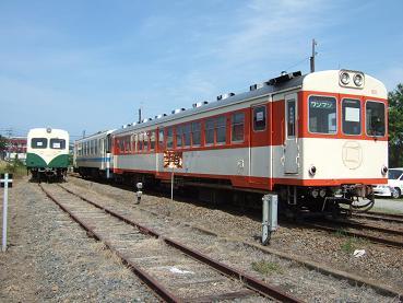 鹿島鉄道気動車