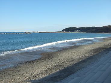 今はなき阿字ヶ浦海岸