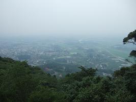 愛宕山神社の眺望