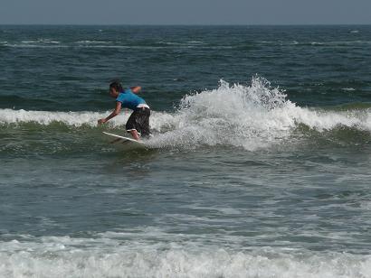 サーフィンの部