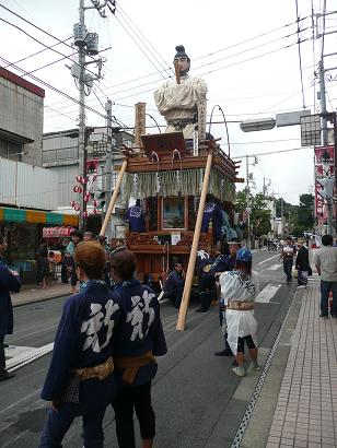 聖徳太子の山車