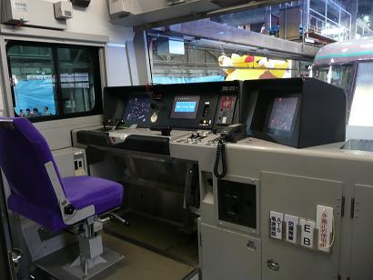 ハイテクなE531系の運転台