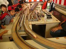 鉄道模型運転
