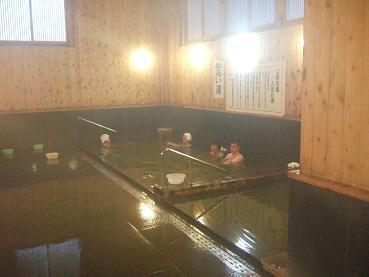 神の湯の内風呂