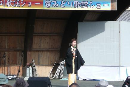 笹みどり歌謡ショー