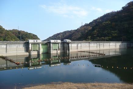 花貫ダム湖