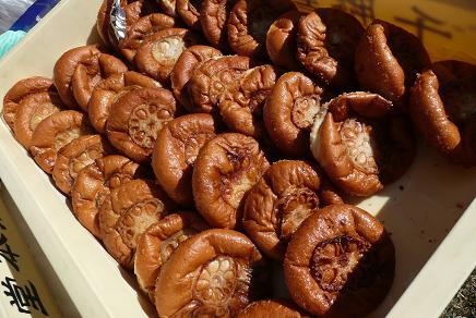 土浦のカレーパン(レンコンのせ)