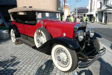 1928年製のキャデラック・フェートン