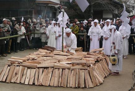 薪への着火