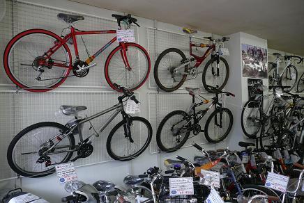 スポーツサイクルも充実