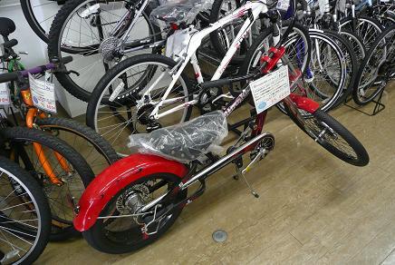 店主お薦め、スティングレイの自転車