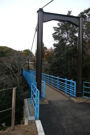長さ36mの長者橋