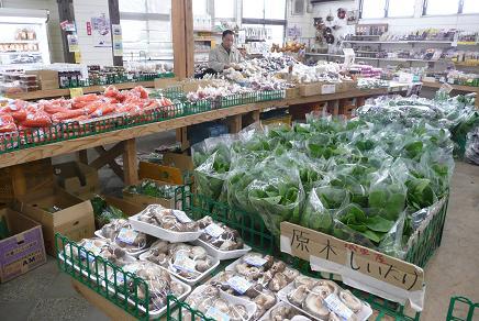 新鮮で格安な農産物の販売