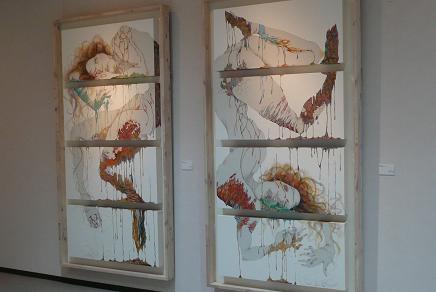 筑波大 洋画 「透く時」と「噂がない時間」