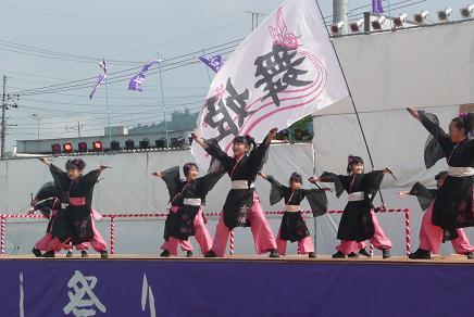 小学生による可愛い舞姫の演舞