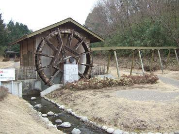 入口の水車小屋
