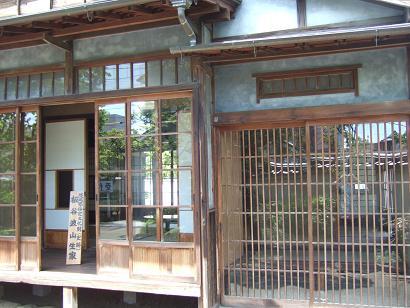 板谷波山の生家
