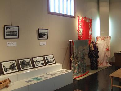 郷土品が展示された館内
