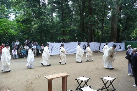 小笠原流百手式の奉納