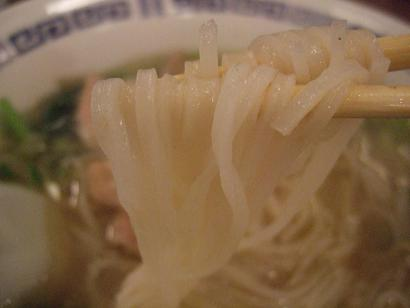 ひやむぎ風な麺